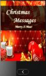 Christmas SMS Messages screenshot 1/6