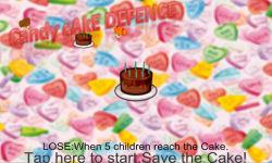 Candy Cake Defence screenshot 1/3