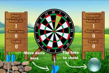 Darts Shooting Game screenshot 2/4
