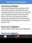 Final Fantasy Wallpaper 2014 screenshot 3/6