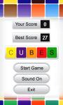 Cubes 240x320 screenshot 2/5