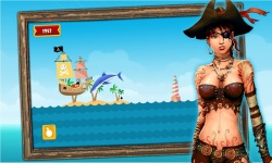 Caribbean Sea Pirates : A War screenshot 4/4