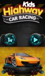 Kids Highway Car Racing screenshot 1/6