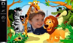 Kids Jungle Photo Frames screenshot 4/6