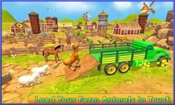 Transport Truck: Cute Animals screenshot 1/5