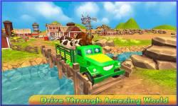 Transport Truck: Cute Animals screenshot 2/5