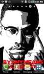 Malcolm X Live Wallpaper screenshot 2/3