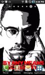 Malcolm X Live Wallpaper screenshot 3/3