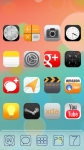 iOS7 XHDPI Nova ADW Apex Theme screenshot 3/3