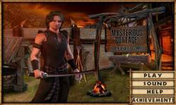 Free Hidden Objects Game - Mysterious Cottage screenshot 1/4