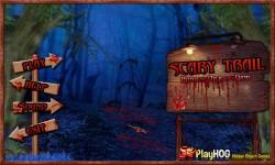 Free Hidden Object Games - Scary Trail screenshot 1/4