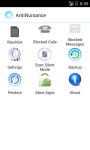 AntiNuisance - Call and Message Blocker screenshot 1/6