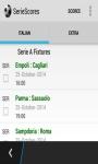 SerieScores screenshot 1/3