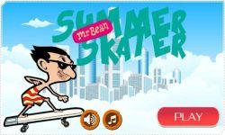 Mr Bean Skater Game screenshot 1/4