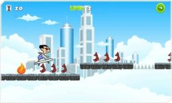 Mr Bean Skater Game screenshot 4/4