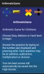 Arithmetic Game screenshot 2/6