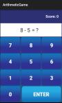 Arithmetic Game screenshot 3/6