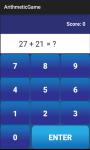 Arithmetic Game screenshot 4/6