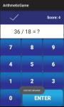 Arithmetic Game screenshot 5/6