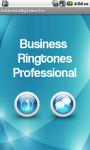 Business Ringtones Pro screenshot 1/4