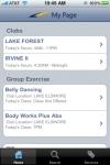 LA Fitness Mobile screenshot 1/1