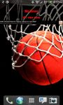 Utah Basketball Scoreboard Live Wallpaper screenshot 1/4