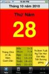 Vietnam Calendar for iPhone screenshot 1/1