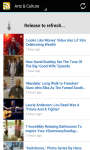 Huffington Post RSS screenshot 2/6
