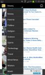 Huffington Post RSS screenshot 3/6