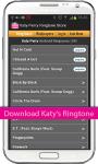 Katy Perry Ringtone Store screenshot 1/4