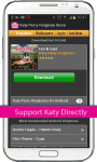 Katy Perry Ringtone Store screenshot 2/4