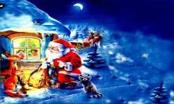 Christmas Wallpapers of Santa Claus screenshot 2/6
