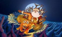 Christmas Wallpapers of Santa Claus screenshot 3/6