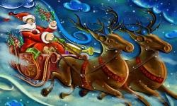 Christmas Wallpapers of Santa Claus screenshot 5/6