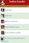 Indira Gandhi screenshot 2/3