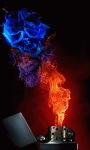 Flame Lighter Live Wallpaper screenshot 1/3