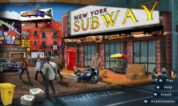 Free Hidden Object Game - New York Subway screenshot 1/4