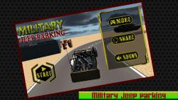 Military Jeep Parking - 3d screenshot 1/6