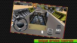 Military Jeep Parking - 3d screenshot 3/6