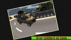 Military Jeep Parking - 3d screenshot 4/6