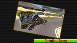 Military Jeep Parking - 3d screenshot 5/6