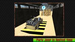 Military Jeep Parking - 3d screenshot 6/6