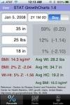 STAT GrowthCharts Lite screenshot 1/1