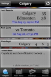 Canadian Football News screenshot 1/1