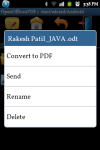OpenOffice2PDF Converter screenshot 2/6