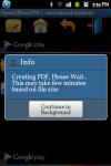 OpenOffice2PDF Converter screenshot 3/6