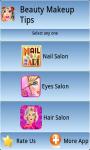 Makeup Tips App screenshot 1/4