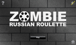 Zombie Russian Roulette Free screenshot 1/3