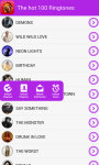 The Hot 100 Ringtones screenshot 4/5
