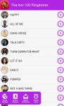 The Hot 100 Ringtones screenshot 5/5